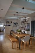 Essbereich mit offener Küche