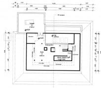 Grundriss Dachgalerie