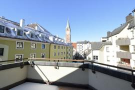 Blick auf Kreuzkirche
