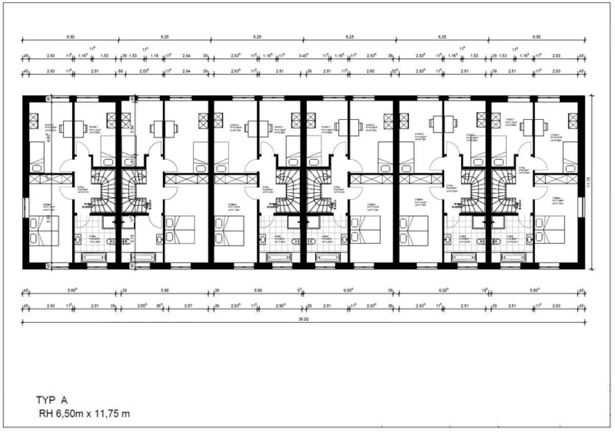 Gebäude 1-6 Obergeschoss