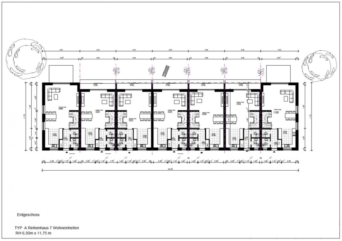 Gebäude 7-13 Erdgeschoss