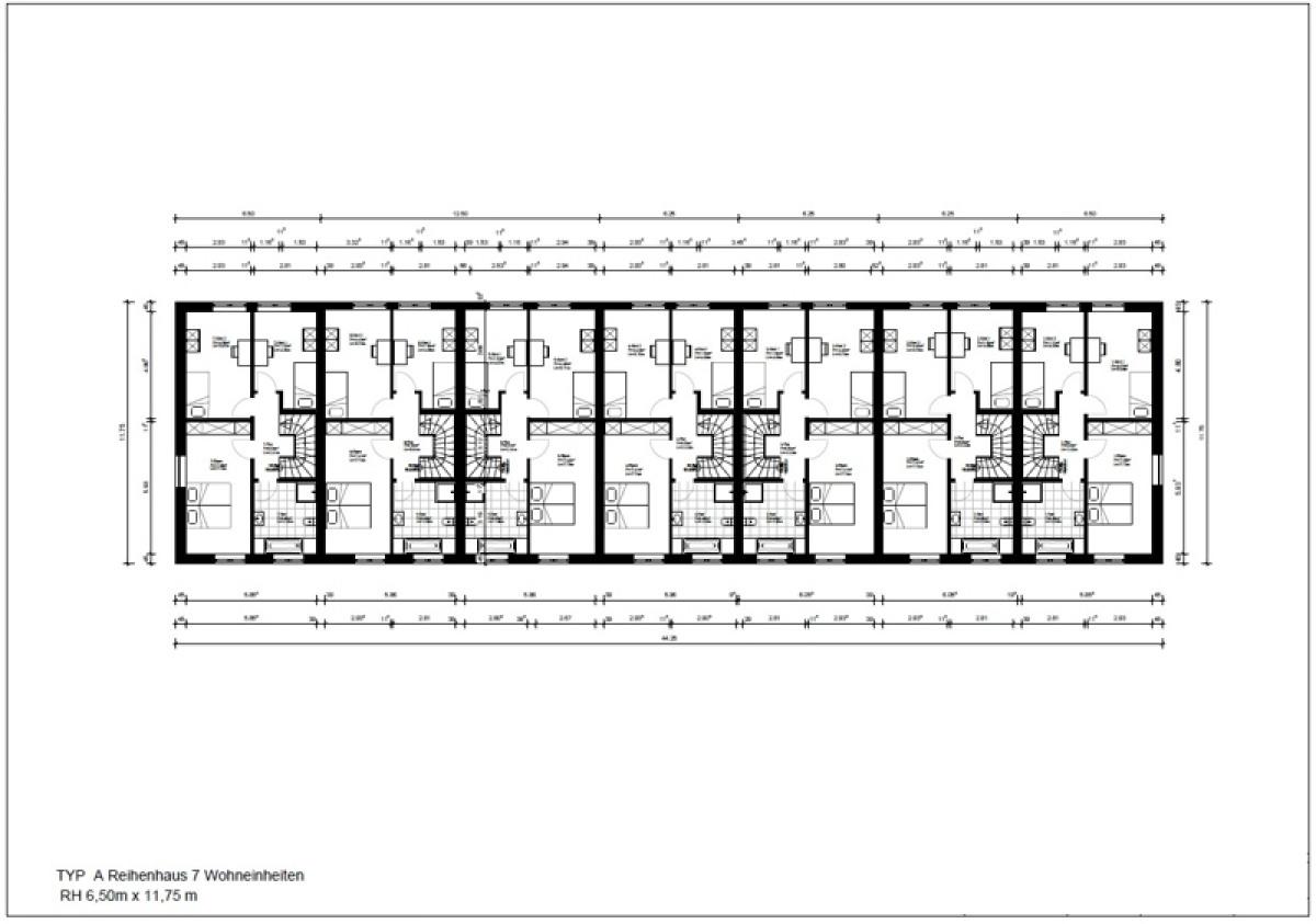 Gebäude 7-13 Obergeschoss