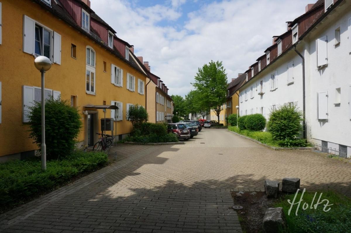 Blick in die Kornstraße