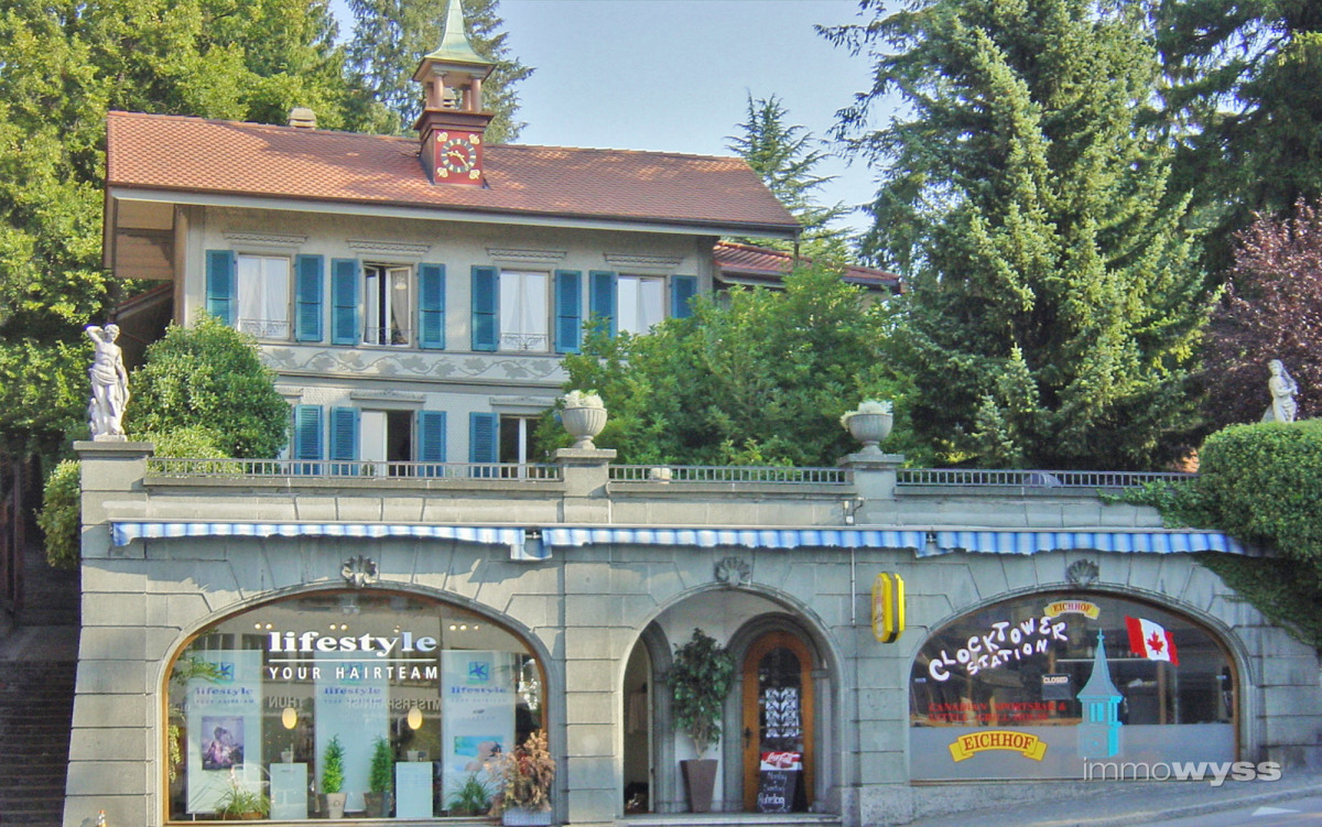 Historische Stadtvilla Thun Knechtenhofer-Haus