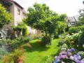 Hinteransicht Garten