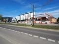 Blick auf Neubau und Hotel Stadt Freiburg