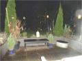 Terrasse abends