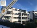 Hausansicht Balkone