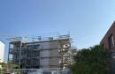 Balkone v Westen aus