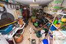Abstellraum unter Garage