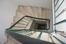 Marmortreppe vom Keller bis zum Studio