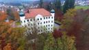 Luftaufnahme vom Schloss