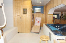 Sauna, Tauchbecken, Wirlpool