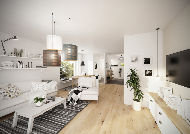 EG Blick aus Wohnzimmer - Eck