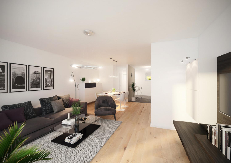 EG Blick aus Wohnzimmer - Mittel