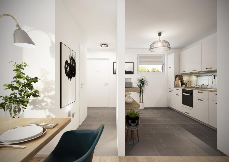EG Eingangsbereich und Küche