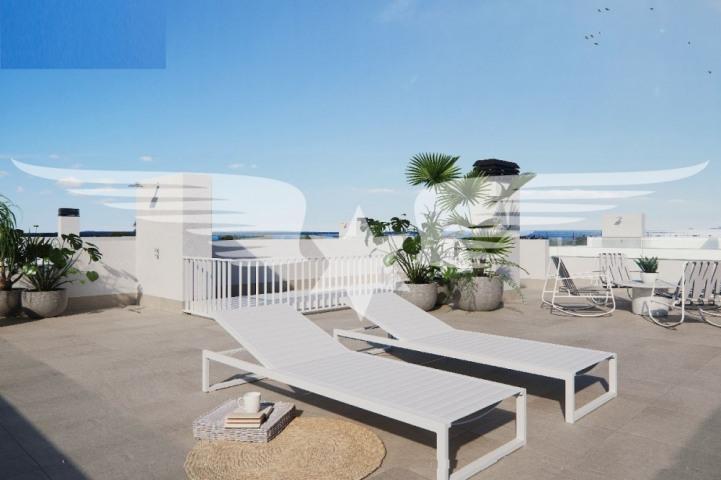Meerblick-Dachterrasse