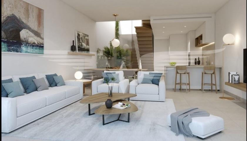 Visualisierter Wohn-Essbereich