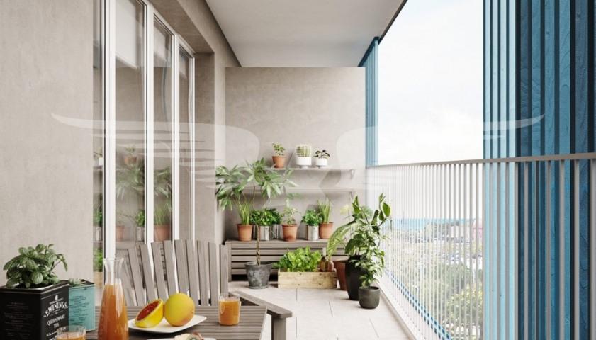 Visualisierte Balkon