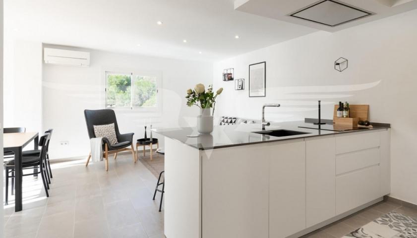 Wohnraum-Küche