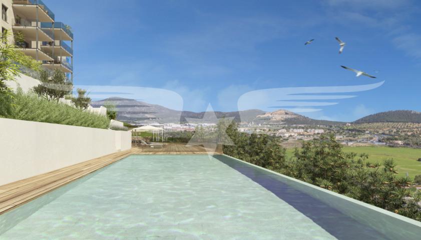 Visualisierter Swimmingpool