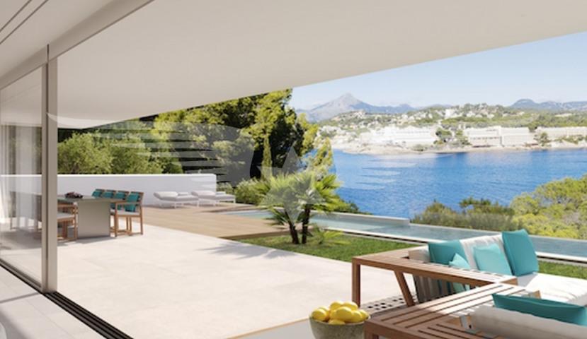 Visualised sea view terrace