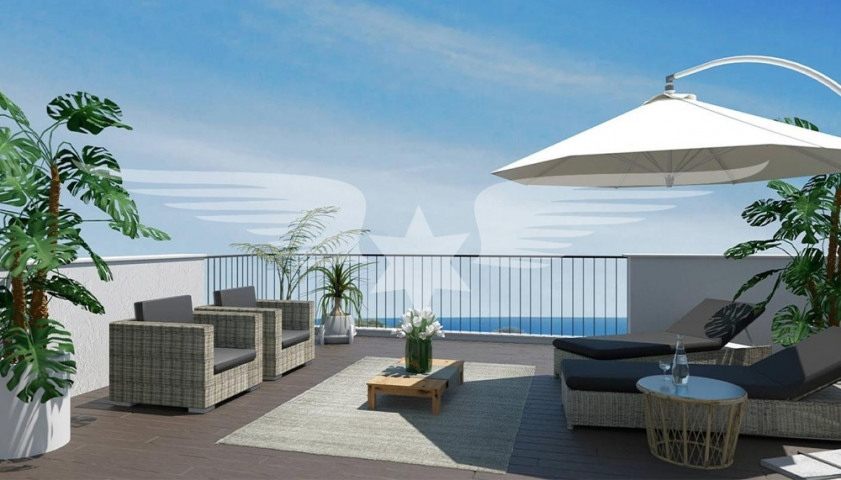 Visualisation of roof terrace