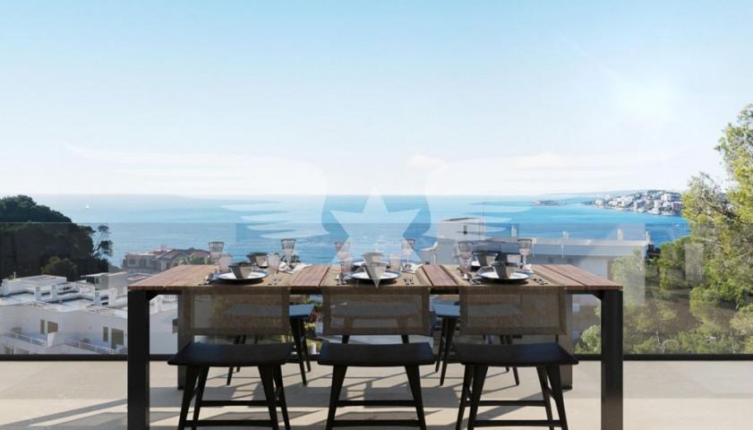 Visualised terrace