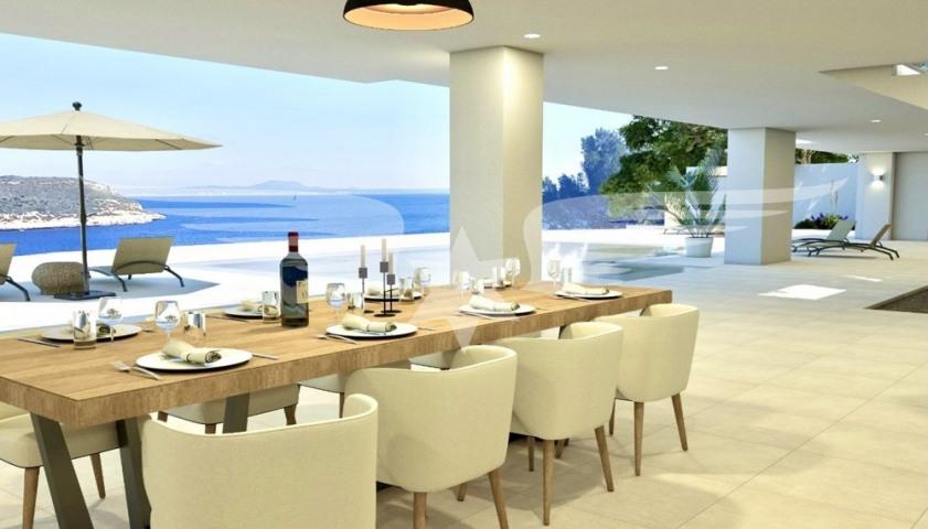 Visualized living area