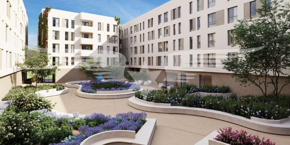 Visualised inner courtyard