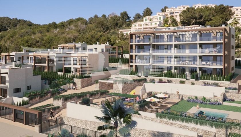 Complejo residencial visualizado