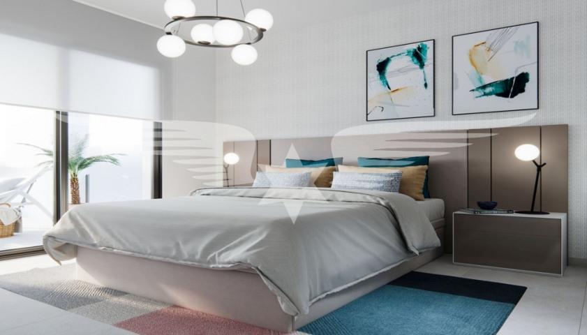 Visualised bedroom