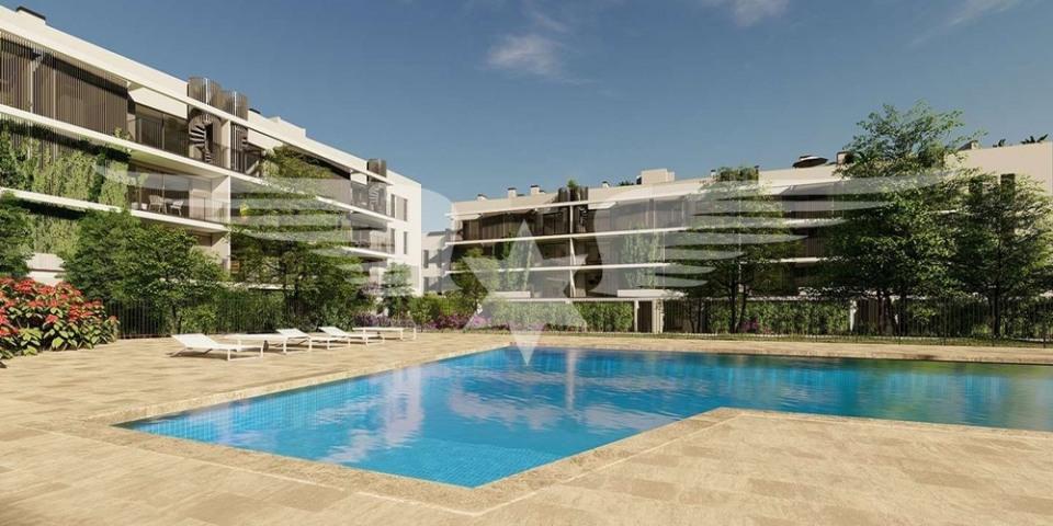 Visualised pool area