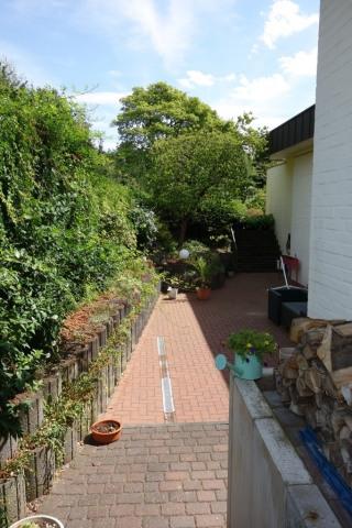 Zugang zur Wohnung/Terrasse