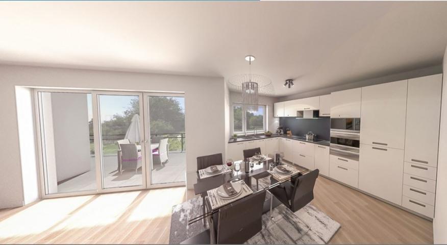 Wohnung 6 Küche und Essbereich