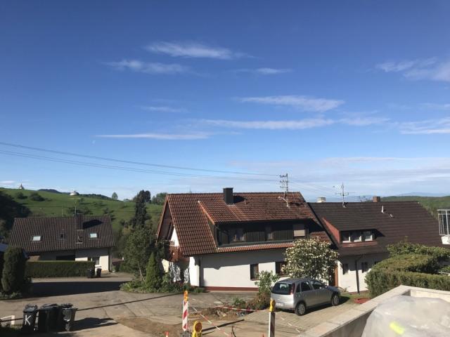 Blick von der Terrasse nach Südwest