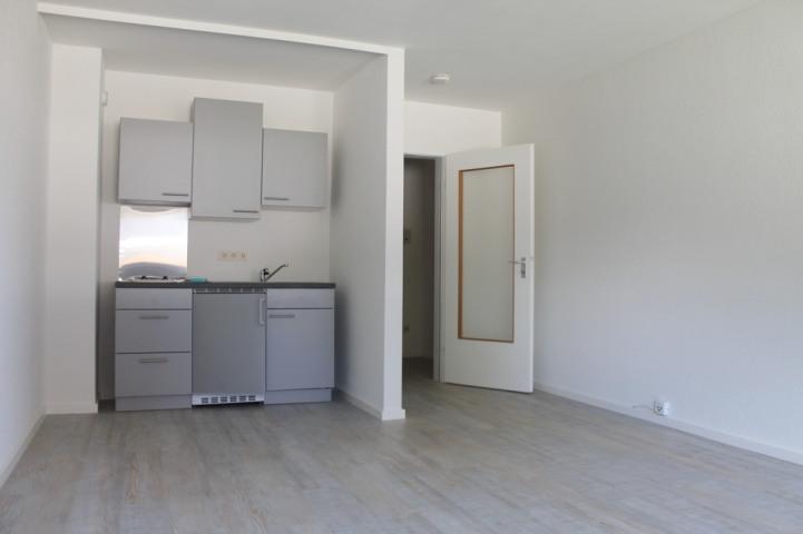 Wohn-Schlaf-Küchenbereich