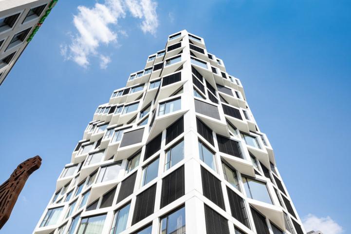 Anspruchsvolle Architektur.