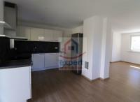 Küche mit Durchgang zum Wohnzimmer