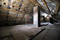 Dachboden gedämmt