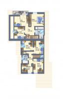 Dachgeschoss (beide Häuser)