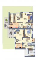 Erdgeschoss (beide Häuser)