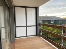Balkon Blick Süd