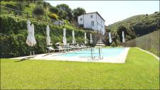 Toskanisches Landhaus mit Panoramablick bei Pisa - Toskana