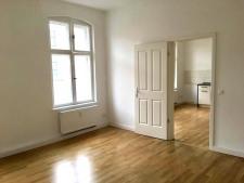 Ansicht Wohnraum und Küche