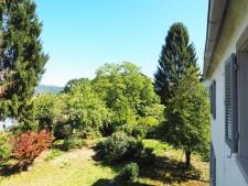 Ausblick in den Garten