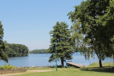 Blick auf den Dümmer See - nur wenige Meter vom Grundstück