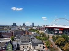 Ausblick zur Lanxess-Arena - Dom