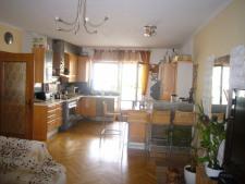 von Küche zum Wohnzimmer offen