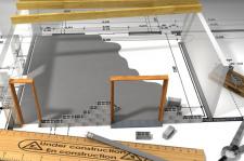 Hausbau Grafik